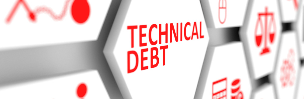 Tech Debt Graphic for Technical Debt Article
